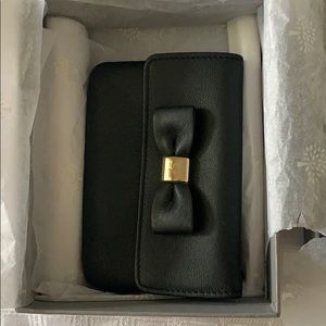 Mulberry Card Case with Coin Pouch